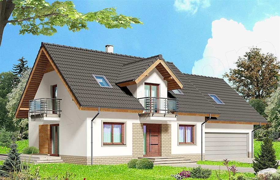 Projekt domu Albus 2