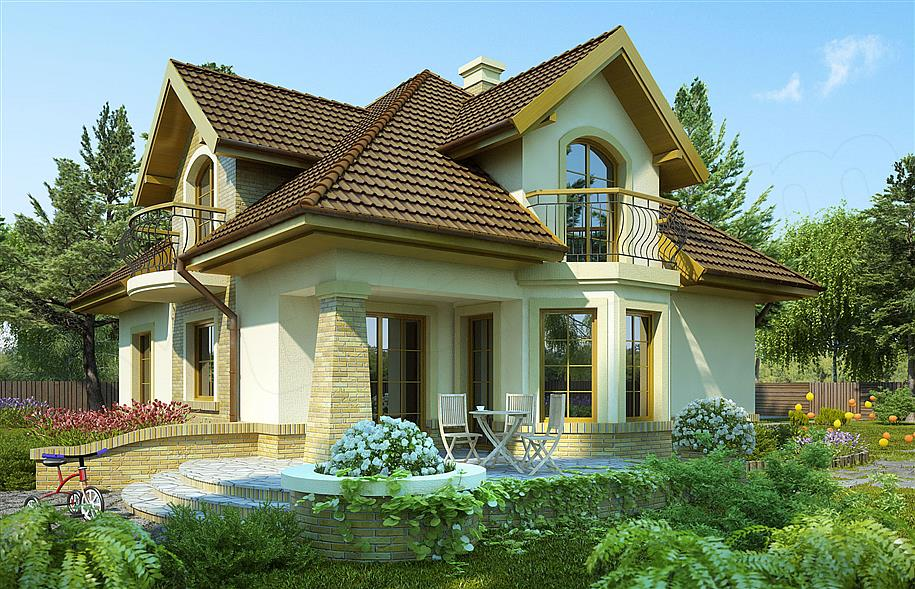 Projekt domu Iliada III