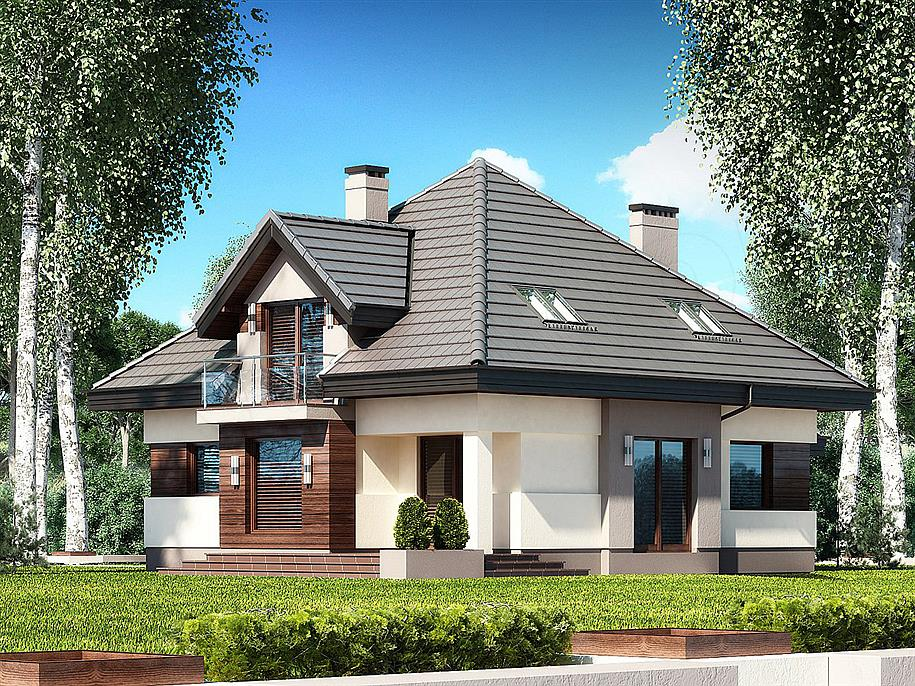 Projekt domu Opałek III N 2G