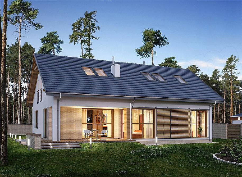 Projekt domu E-185
