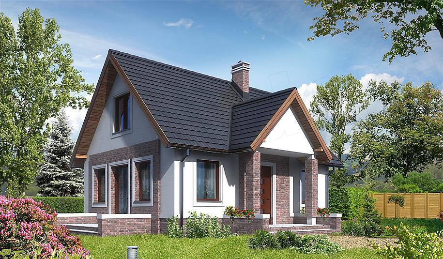 Projekt domu Kaprun II LMW01a