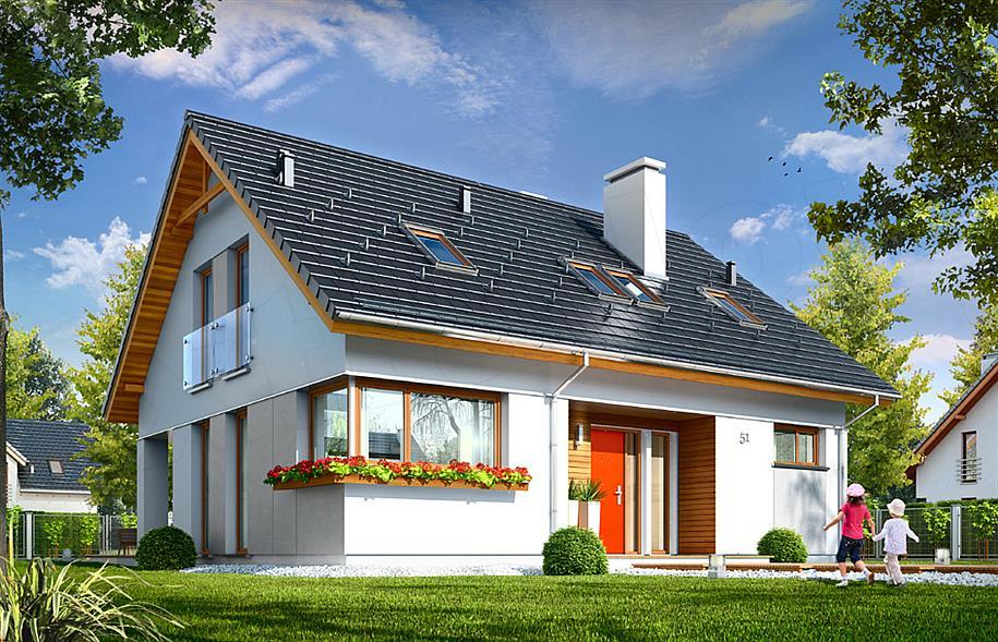 Projekt domu Optymalny