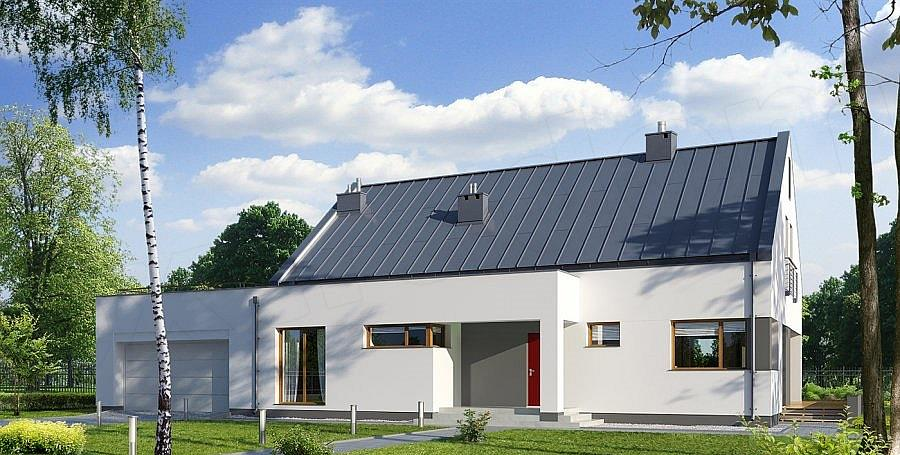 Projekt domu E-136